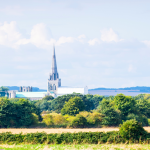 Scenic view of Chichester, UK